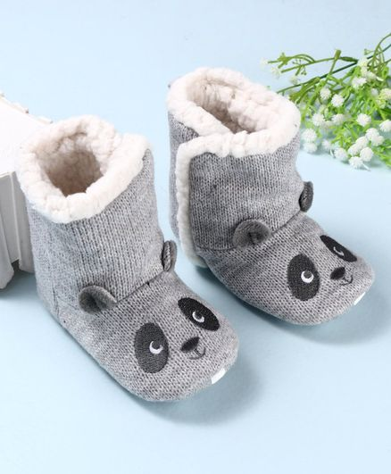 Buy Fox Baby Ankle Length Boots Panda