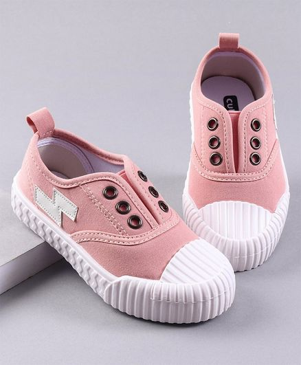 Cute Walk by Babyhug Canvas Casual Shoes - Pink