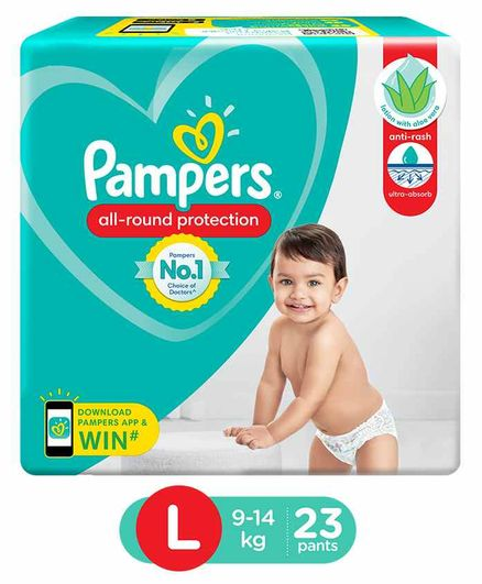 Pampers Diaper Pants Large - 23 Pieces