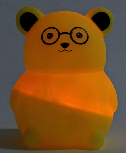 Battery Operated Night Lamp - Yellow