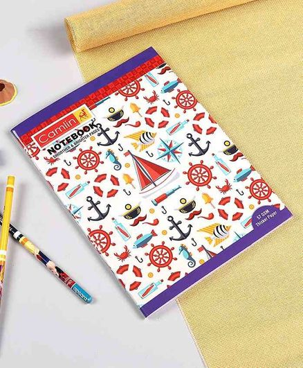 Camlin A5 Four Line Notebook - 180 Pages