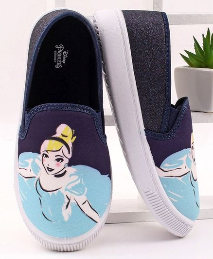 Disney Princess Casual Shoes - Navy Blue