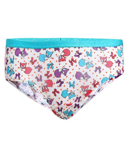 Jockey Pack Of 2 Printed Assorted Panties - Multi Colour