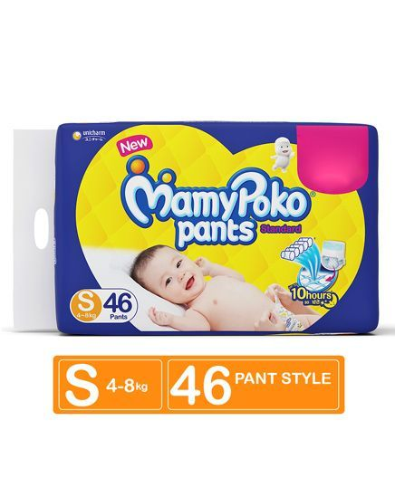 MamyPoko Standard Pant Style Diapers Small - 46 Pieces