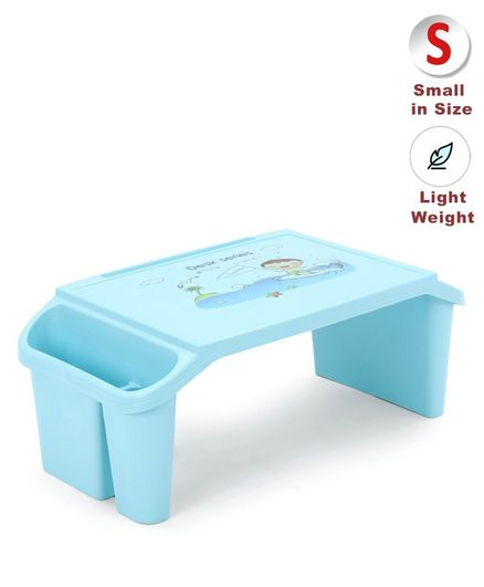 Lightweight Study Table - Blue