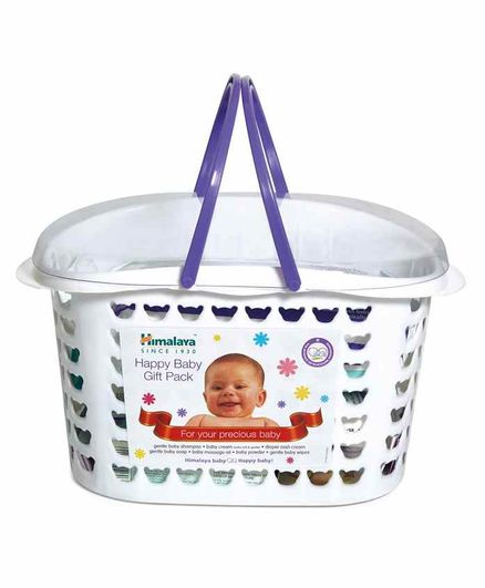 Himalaya Baby Care Gift Basket Pack - Set Of 7