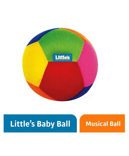 Little's Baby Soft Ball With Rattle Sound 11 cm