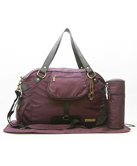 My Milestone Diaper Bag - Studio Wine