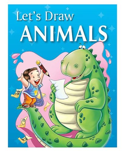 Pegasus Drawing Book Lets Draw Animals