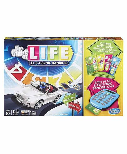 Hasbro Board Game with Electronic Banking - Multicolor