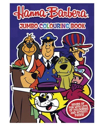 alligator books hanna barbera jumbo colouring book - Jumbo Coloring Book
