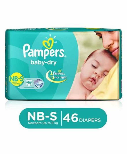Pampers Taped Diapers Small (SM) 46 count