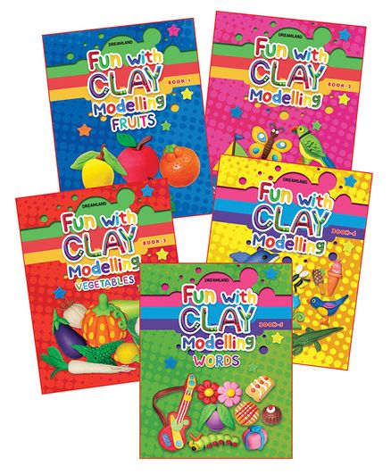 Dreamland Fun With Clay Modelling Combo Pack - English