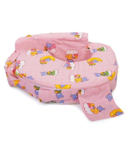 be7b5759de1 Babyhug Teddy On Clouds Feeding Pillow Pink Online in India