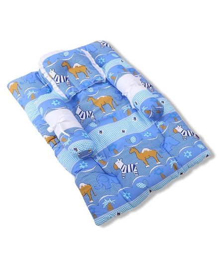 07fd9d712e58 Babyhug Gadda Set Blue Animal Print Online in India