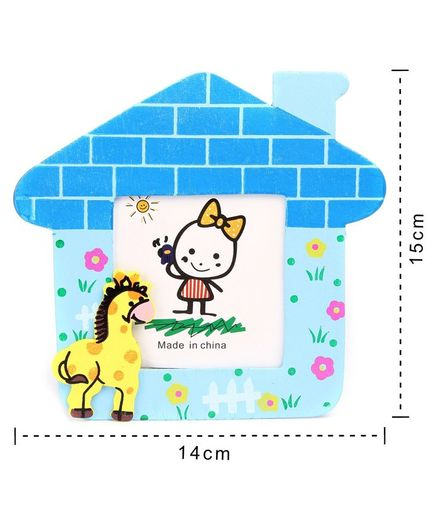 Wooden Photo Frame Stand Horse Design-2