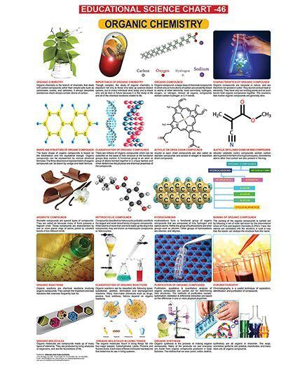 Educational Science Organic Chemistry Chart 46 English Online in India, Buy  at Best Price from Firstcry com - 546349