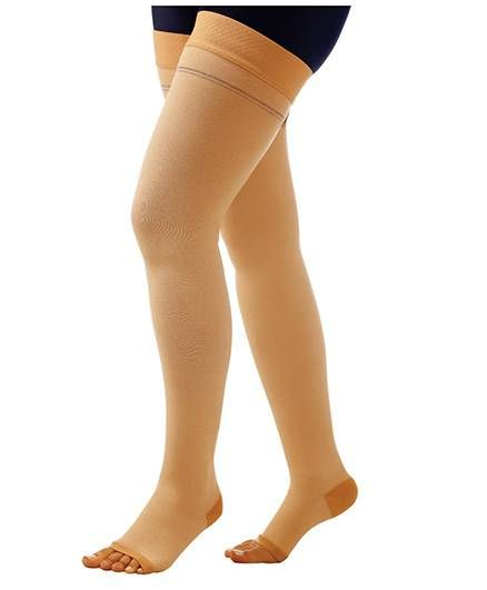 Comprezon Varicose Vein Stockings Class 1 Above Knee - Extra Large