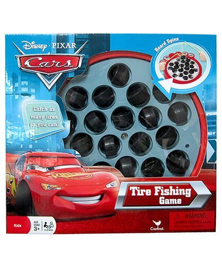Cardinal Disney Cars Tyre Fishing Game Red Online India Buy Board