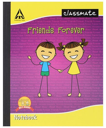 Classmate Notebook Four Lines With Gap Ruling - 172 Pages