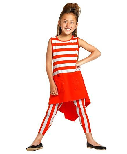 16dd15433c24a Buy Melinda Dress Orange for Girls (4-5 Years) Online in India, Shop at  FirstCry.com - 618578