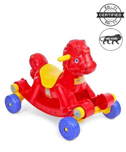 a717367aaeb Babyhug Rock O Ride Pony Rideon Red Online in India