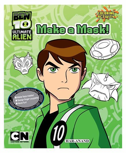 Ben 10 Make a Mask - English