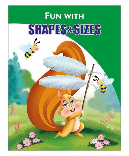 Activity Book Shapes and Sizes - English