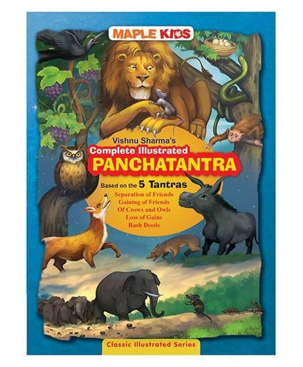 Panchatantra Illustrated Complete - English