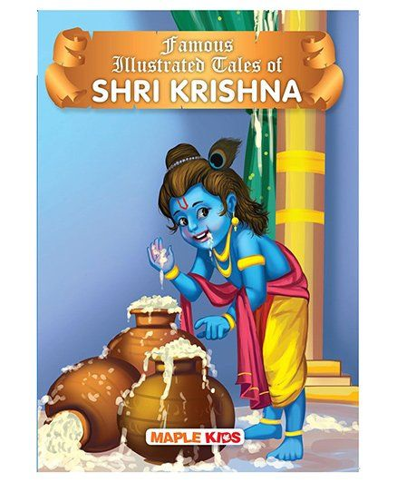 Krishna Tales Illustrated - English