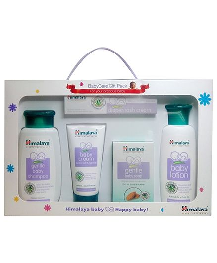 46c1be3061d1d Himalaya Herbal Baby Care Gift Pack 5 Pieces for Both (0-24 Months ...