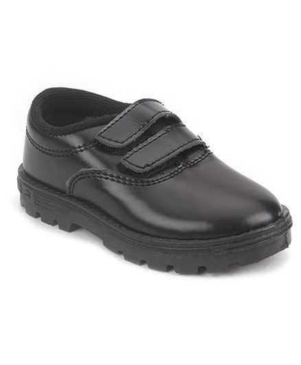 6743e56b5c4f8 Buy Prefect By Liberty School Shoes With Dual Velcro Closure Black ...