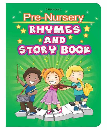 Pre-Nursery Rhymes & Story Book - English