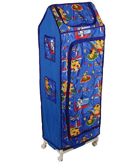 Kids Zone Hum Tum Almirah (Color & Print may vary)