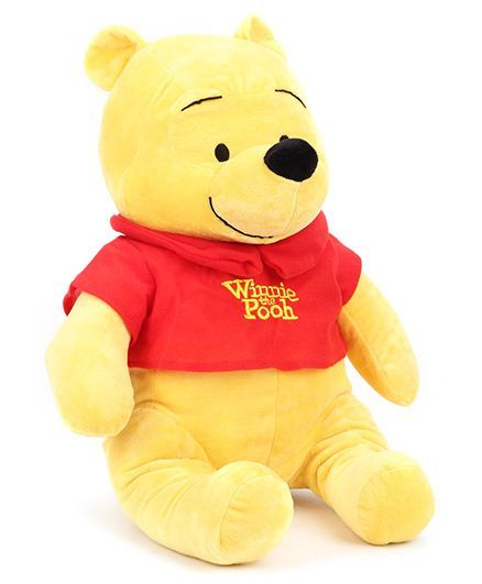 c2660f10c Disney Winnie The Pooh Soft Toy Yellow   Red Height 43 cm Online ...