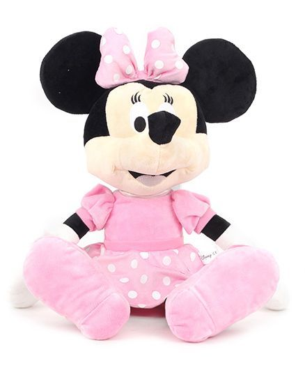 Disney Minnie Mouse Soft Toy Pink - Height 30 cm