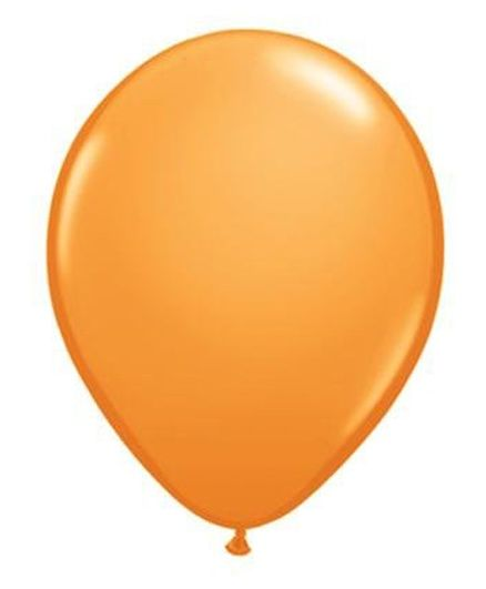 PrettyurParty Latex Balloons Pack of 50 - Orange