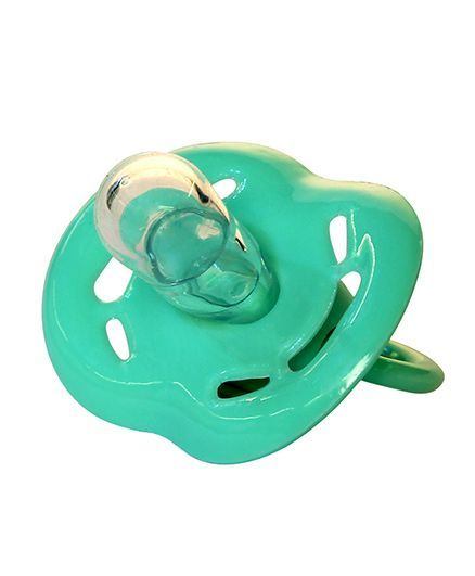 Small Wonder Soother With Liquid Silicone Bulb - Green