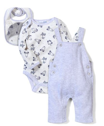 a6b441b51bc5 Buy Vitamins Baby Rompers   Onesie Set Grey for Girls (6-9 Months ...