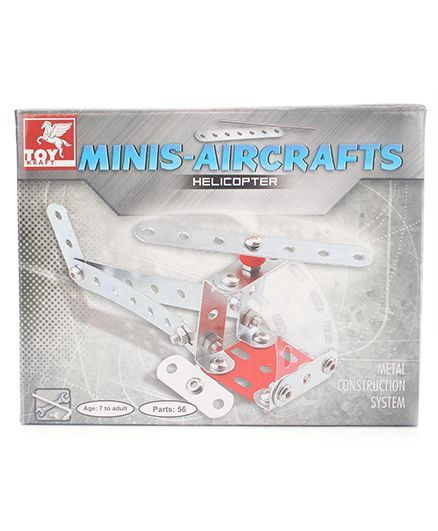 Toy Kraft Minis Helicopter - 56 Pieces