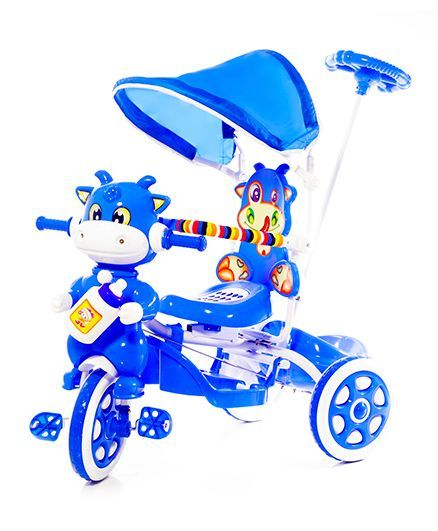 Luusa Hunny Bunny Tricycle With Canopy - Blue  sc 1 st  Firstcry.com & Luusa Hunny Bunny Tricycle With Canopy Blue Online in India Buy at ...