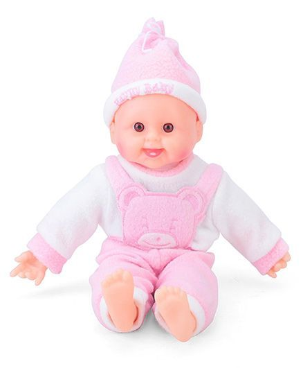 newest 4c0fe 49cc7 ToyMark Happy Baby Doll Pink Online India, Buy Dolls and Dollhouses for  (3-9 Years) at FirstCry.com - 749111