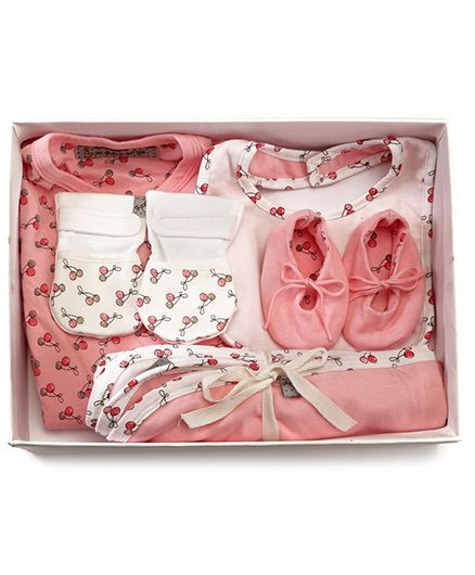 Mi Dulce An'ya Organic Cotton Gift Set Pack of 5 - Pink