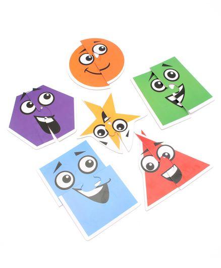 496c9c63ac4 Anindita Toys Toddler Shapes Puzzle Set of 6 Online India