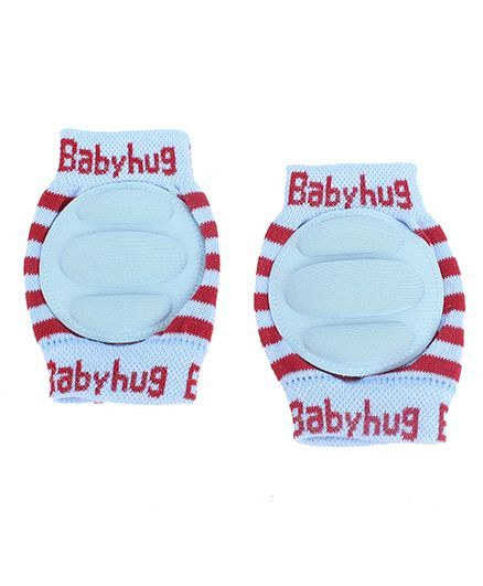 Babyhug Elbow & Knee Protection Pads Protection Pads - Blue & Red