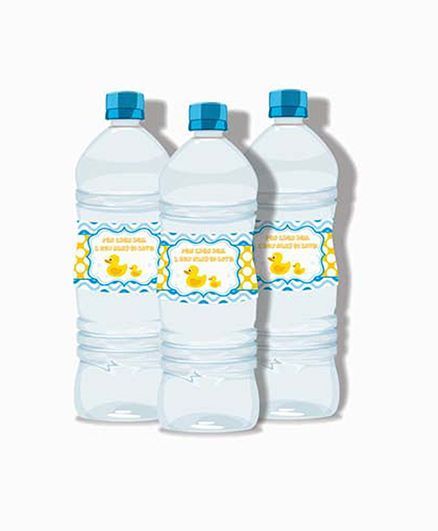 Prettyurparty Rubber Ducky Baby Shower Water Bottle Labels Online