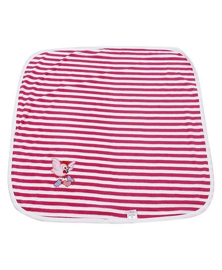 Tinycare Striped Towel - Pink