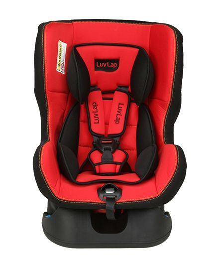 Luvlap Sports Convertible Baby Car Seat Red Black Online In India Buy At Best Price From Firstcry Com 795076
