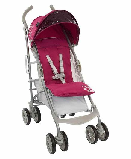Graco Stroller with Safety Harness and Parent Handle - Pink