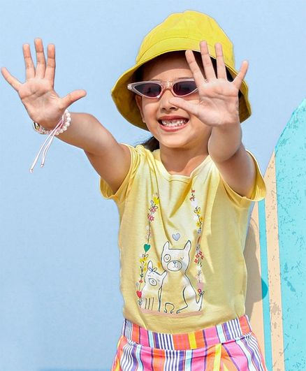 Carter's Dog Jersey Tee - Yellow